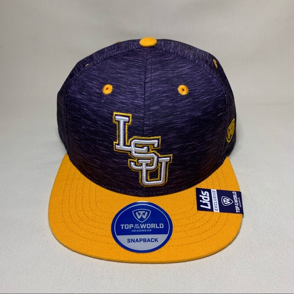 info for 3ffca 2c9d7 LSU Tigers Energy Snapback Hat. NWT. Top of the World